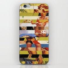 Glitch Pin-Up Redux: Farrah iPhone & iPod Skin