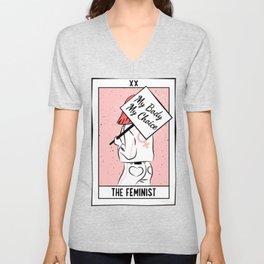 The Feminist - My Body My Choice Unisex V-Neck
