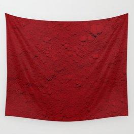 Rojo Absoluto Wall Tapestry