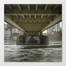 Pittsburgh Underbelly Canvas Print