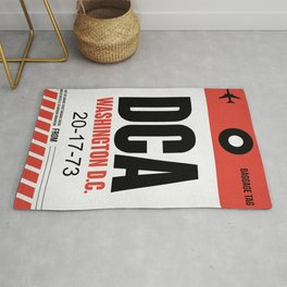 DCA Washington Luggage Tag 1 Rug