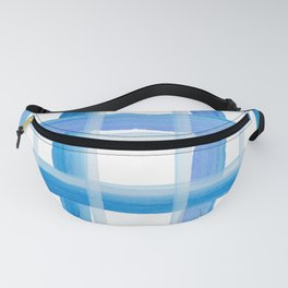 Blue Stripes Fanny Pack