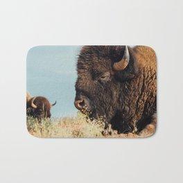American Bison II Bath Mat