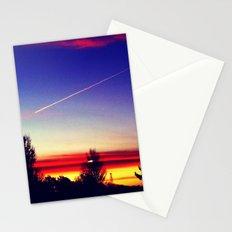 Sunrise series- Streak of light Stationery Cards