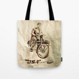 BSA - Vintage Poster Tote Bag