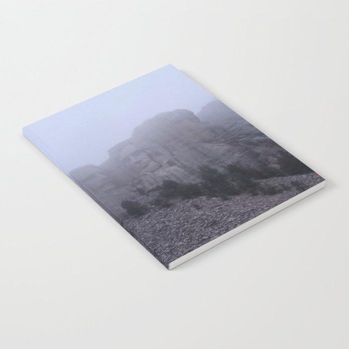 Mount Rushmore Notebook