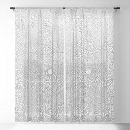 Turbulence 14 Sheer Curtain