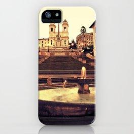 Spanish Steps iPhone Case