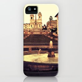 Spanish Steps iPhone Case
