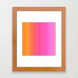 Simply Gradient Framed Art Print