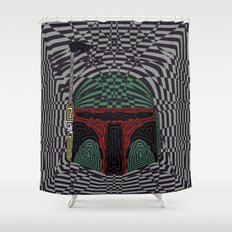 Boba Effect Shower Curtain