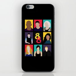Sense8 Colors iPhone Skin