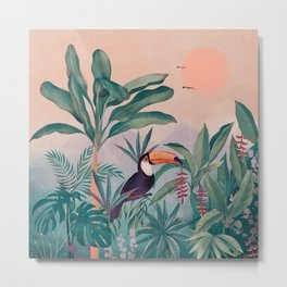 Jungle Paradise Metal Print