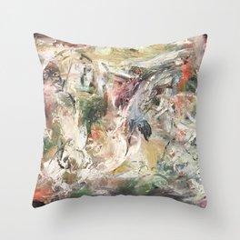 Nod to Elysium Throw Pillow