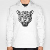 leopard Hoodies featuring Leopard by BIOWORKZ