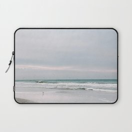 Square Photo Series - Outer Banks 3 - Photography Laptop Sleeve