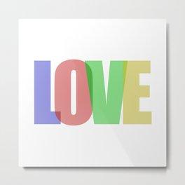 Love (Color) Metal Print