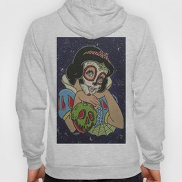 Snow White with apple Sugar Skull Hoody