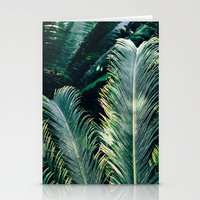palm tree Stationery Cards featuring Palm Tree by Pati Designs