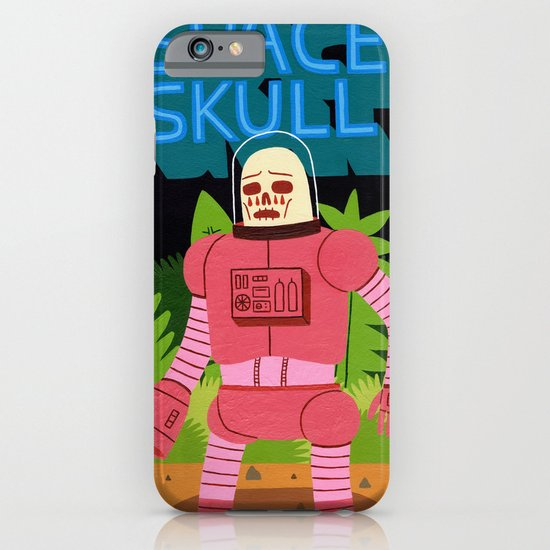 Space Skull iPhone & iPod Case