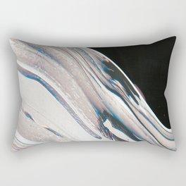 Space Time Blur Rectangular Pillow