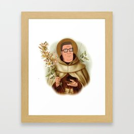 Saint Hank Hill Framed Art Print