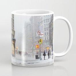 Flatiron Building in a Blizzard Coffee Mug