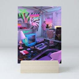 Synthwave Miami 85 Mini Art Print