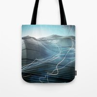 journey Tote Bags featuring Journey by Jason Linn