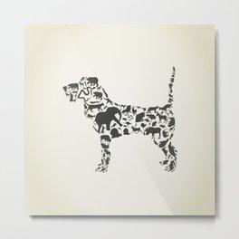 Dog an animal Metal Print