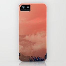 Himalayas Under a Pink Sky iPhone Case