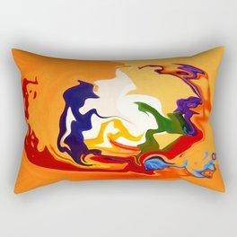 Tough Audience Rectangular Pillow