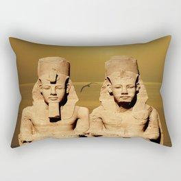 Ramesses and Nefertari Rectangular Pillow