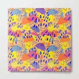 April rain Metal Print