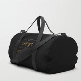 Keep Christ in Christmas Duffle Bag
