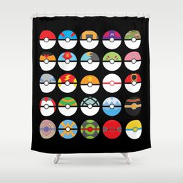Look at My Balls Shower Curtain