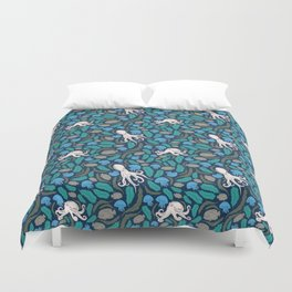 Octopus Nautical Marine Pattern Duvet Cover