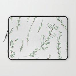 Mistletoe Winter Berry Laptop Sleeve