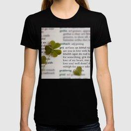 Love in Irish T-shirt