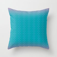 Cherry Blossoms in Winter Throw Pillow