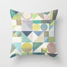 Nordic Combination 21 Throw Pillow