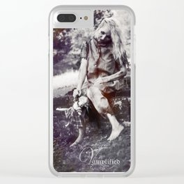 "VAMPLFIED ""Brick Dust"" Clear iPhone Case"
