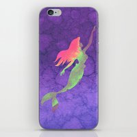 ariel iPhone & iPod Skins featuring Ariel  by foreverwars