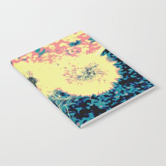 Three Dandelions Notebook