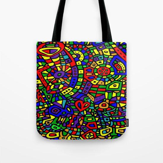 Abstract #452 Tote Bag