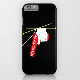 Stitched Up iPhone Case