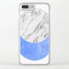 Modern geometric art XIII Clear iPhone Case
