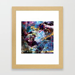 Hyper - Vulture Framed Art Print