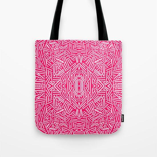 Radiate (Coral) Tote Bag