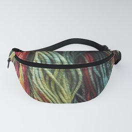 Autumnal Variegated Yarn Fanny Pack